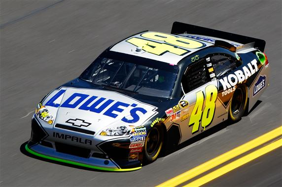 Jimmie Johnson says only practice can determine how different Talladega will be this time around