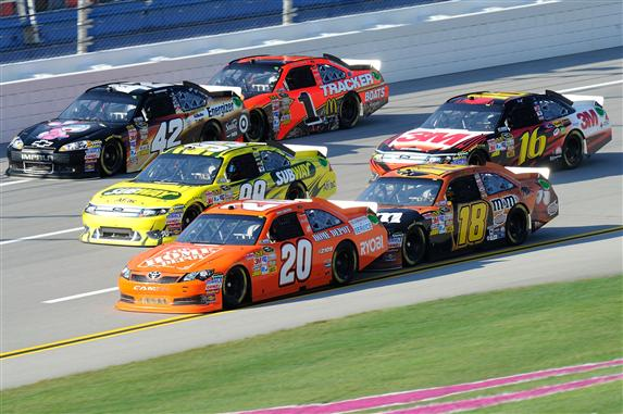 Talladega Good Sam Club 500 Projected Drafting Partners