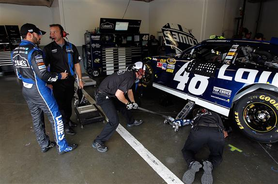 Chad Knaus suspended