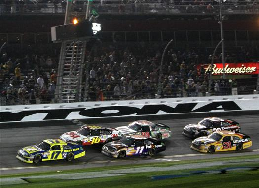 Average Practice Speeds: Daytona 2 – Coke Zero 400