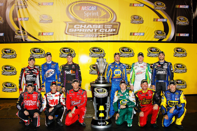 NASCAR 2012 Sprint Cup Chase Drivers