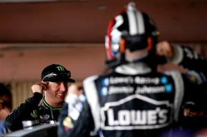 Kyle Busch Jimmie Johnson Fantasy NASCAR