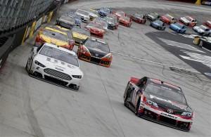 Denny Hamlin Brad Keselowski Fantasy NASCAR