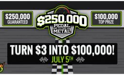 DraftKings Pedal To The Metal, Win $100,000 for first, $250,000 paid out