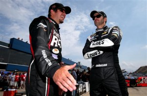 Martin Truex, Jr. Jimmie Johnson Fantasy NASCAR
