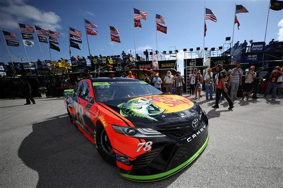 DraftKings Atlanta NASCAR Driver Average Points Rankings