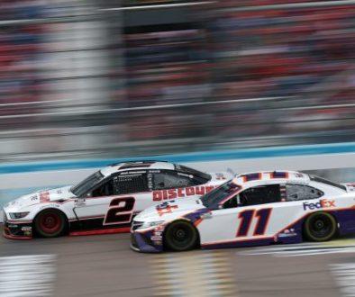 Brad Keselowski Denny Hamlin Fantasy NASCAR